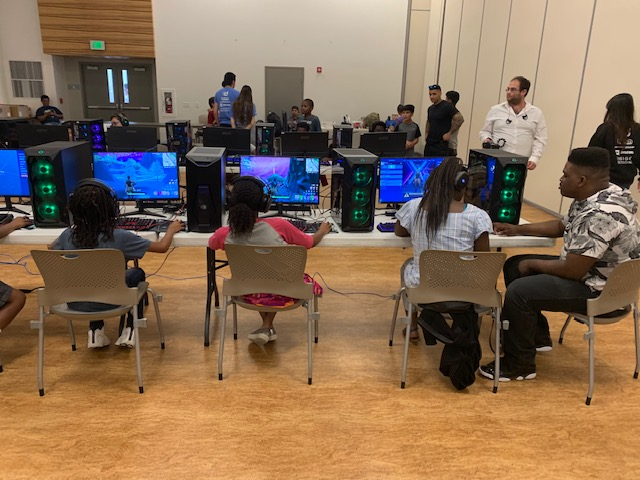 Compton Tech Week Day 3 – Games, Games, Games!