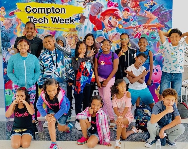 Compton Tech Week Elementary Youth!